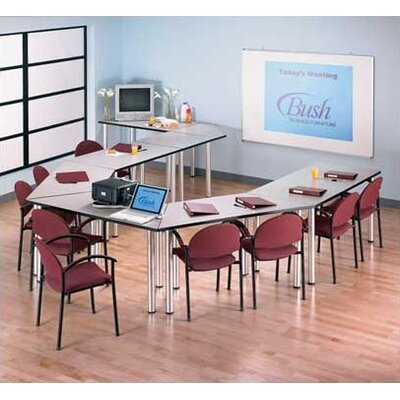 Bush Industries Aspen Boat-Shaped Conference & Training Table Kit