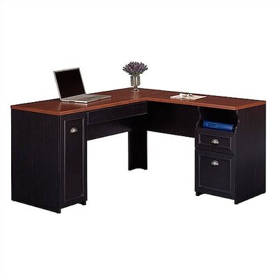 Bush Industries Fairview L-Shaped Desk
