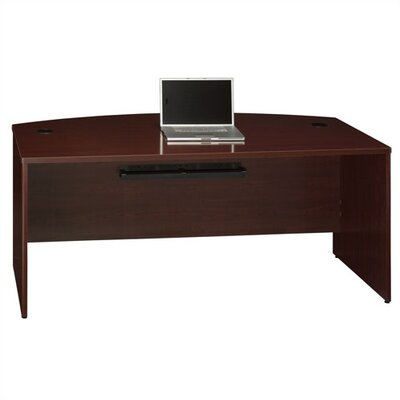 Bush Industries Quantum Bow Front Executive Desk Shell