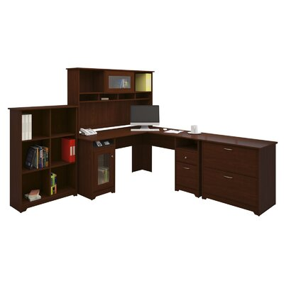 Bush Industries Cabot L-Desk Office Suite