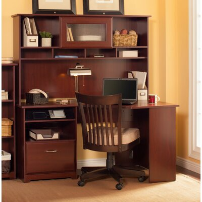 Bush Industries Cabot Corner Desk with Hutch