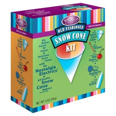 <strong>Nostalgia Electrics</strong> Snow Cone Kit