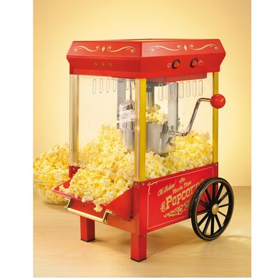 Nostalgia Electrics 2 oz Old Fashioned Kettle Popcorn Maker
