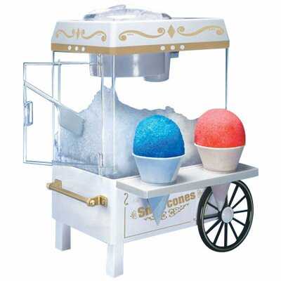 Nostalgia Electrics Old Fashioned Carnival Style Snow Cone Maker