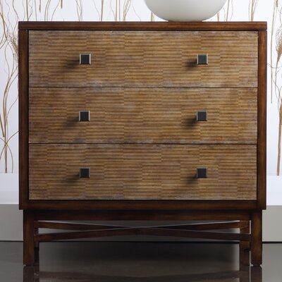 Melange Ashton 3 Drawer Chest