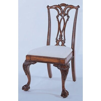 Bedford Row Ball / Claw Desk Chair in Dark Cherry