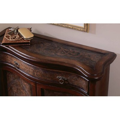 Hooker Furniture Seven Seas Copper Panel 1 Drawer Hall Chest