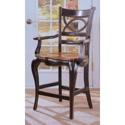 Hooker Furniture Preston Ridge Oval Back Bar Stool