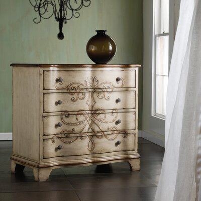Hooker Furniture Melange Colette 4 Drawer Chest