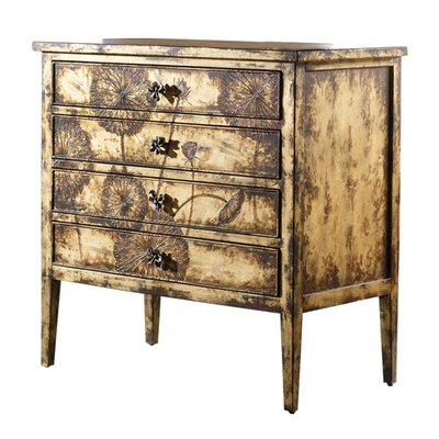 Hooker Furniture Melange Cache 4 Drawer Chest