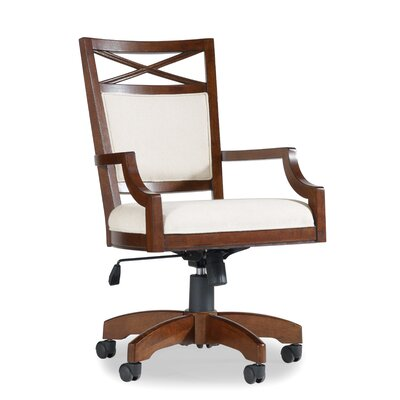 Lorimer High-Back Tilt Swivel Chair with Arms