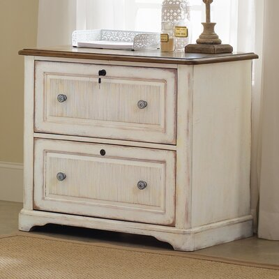 Chic Coterie 2 Drawer Lateral File Cabinet