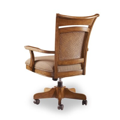 Hooker Furniture Windward High-Back Swivel Chair with Arms