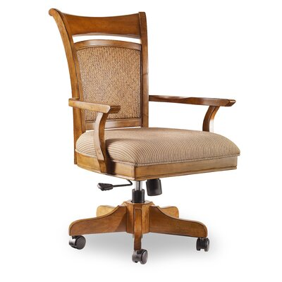 Windward High-Back Swivel Chair with Arms
