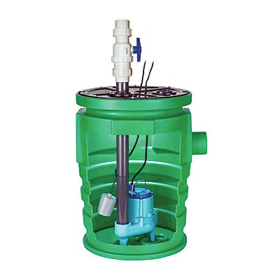Little Giant 80 GPM Pit Plus Pre-Assembled Sewage Basin