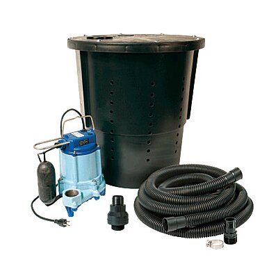 Little Giant 3000 GPM CS-SS Pre-Packaged Crawl Space Sump System