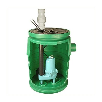 "Little Giant 1/2 HP 2"" Pre-Assembled IAPMO Pit Plus™ ES Series"