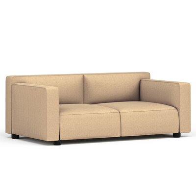 Edward Barber and Jay Osgerby Compact Two Seat Modular Sofa