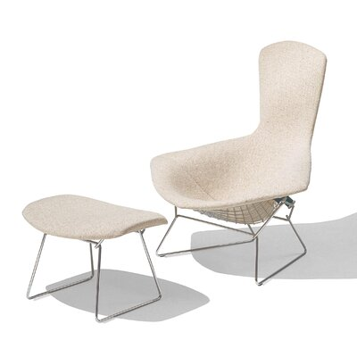 Knoll ® Bertoia Bird Chair with Full Cover