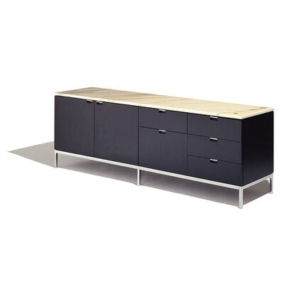 Knoll ® Florence Knoll Four Position Credenza with Two Cabinets on Left
