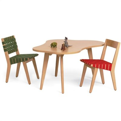 Knoll ® Risom Child's Amoeba Table and Chair Set