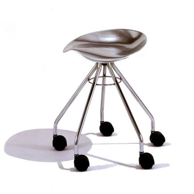 Jamaica Low Barstool with Casters