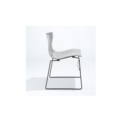 Knoll ® Handkerchief Stacking Side Chair with Seat Pad