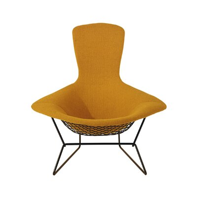 Knoll 174 bertoia bird chair with full cover