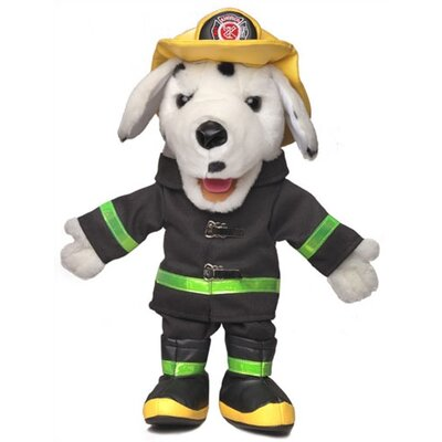 "Silly Puppets 14"" Dalmation Fire Dog Glove Puppet"