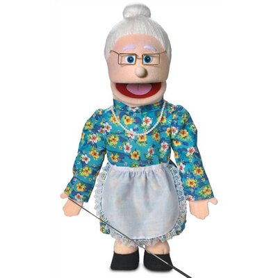 "Silly Puppets 25"" Granny Full Body Puppet"