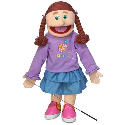 "Silly Puppets 25"" Amy Full Body Puppet"