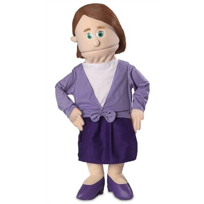 "Silly Puppets 30"" Sarah Professional Puppet with Removable Legs in Peach"