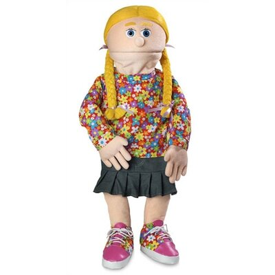 "Silly Puppets 30"" Cindy Professional Puppet with Removable Legs in Peach"
