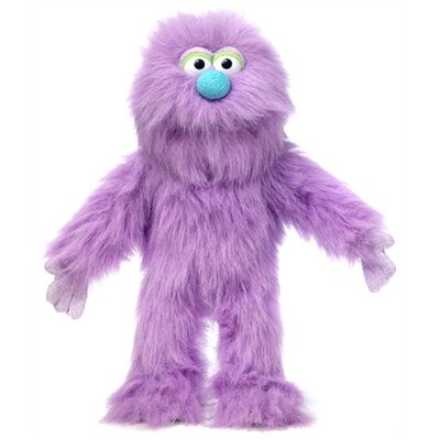"Silly Puppets 14"" Purple Monster Glove Puppet"