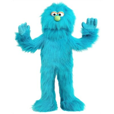 """Silly Puppets 30"""" Blue Monster Puppet"""