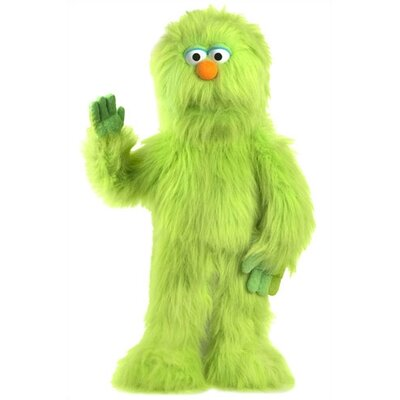 "Silly Puppets 30"" Green Monster Puppet"