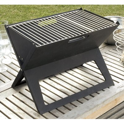 Fire Sense HotSpot Notebook Portable Charcoal Grill