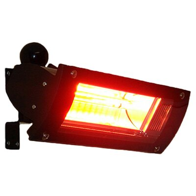 Fire Sense Electric Patio Heater with Glass Front