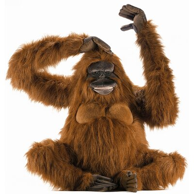 Hansa Toys Life Size Orangutan Stuffed Animal