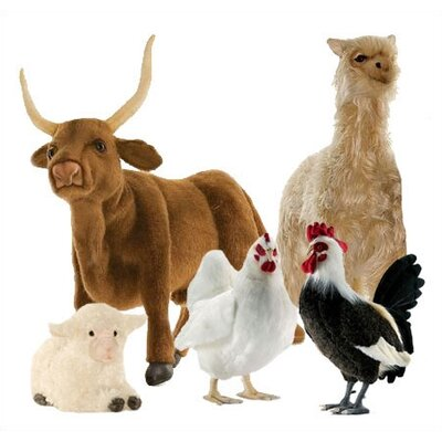 Hansa Toys Barnyard Stuffed Animal Collection II