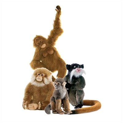 Hansa Toys Monkey Stuffed Animal Collection I