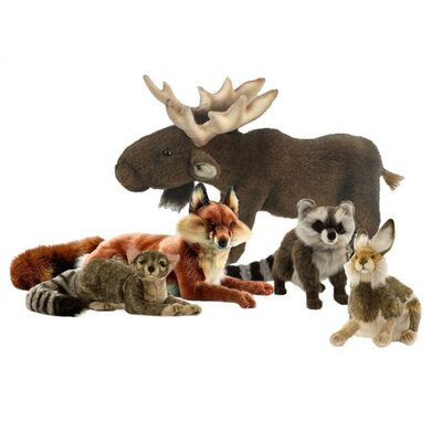 Hansa Toys Woodland Stuffed Animal Collection IV