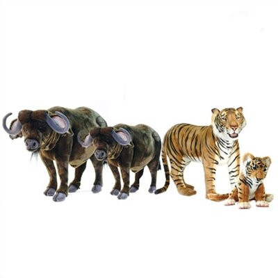 Hansa Toys Safari Stuffed Animal Collection IX