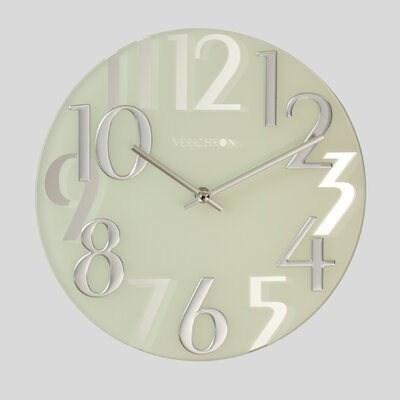 Mirrored Numbers Wall Clock