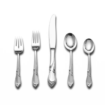 Sculpted Elegant Flatware | Wayfair