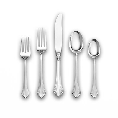 French Regency 66 Piece Flatware Set