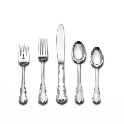 Towle Silversmiths French Provincial 66 Piece Flatware Set