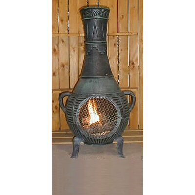 Pine Style Chiminea with Gas Kit