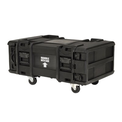 "SKB Cases 30"" Deep 4U Roto Shock Rack in Black"