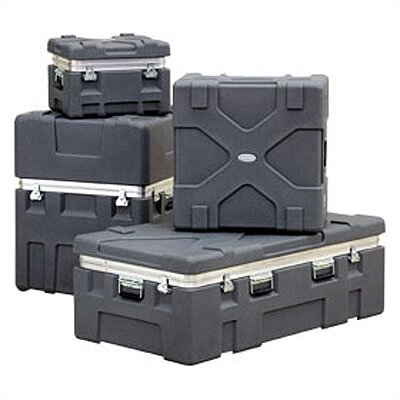 "SKB Cases RX Series: Rugged Roto-X Shipping Foot Locker Case:  18 3/4"" H x 52"" W x 28 5/16"" D (outside)"